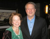 Lori and Al Gore